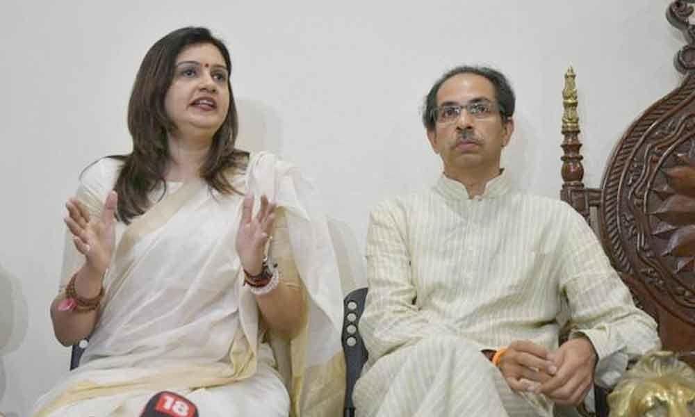 Priyanka Chaturvedi joins Shiv Sena, recalls Congress members misbehaving with her