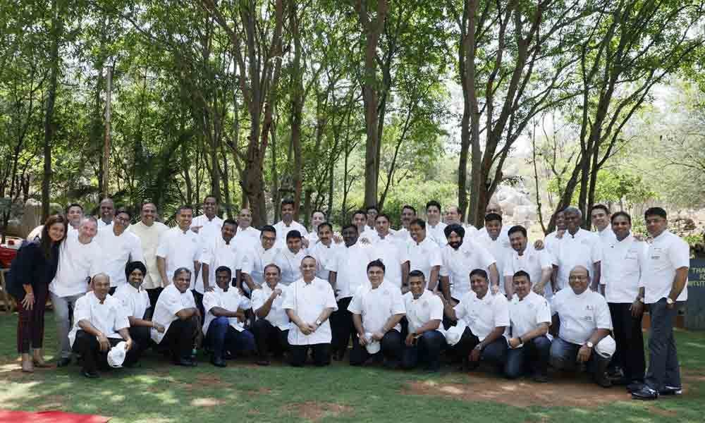 Congregation of culinary experts!