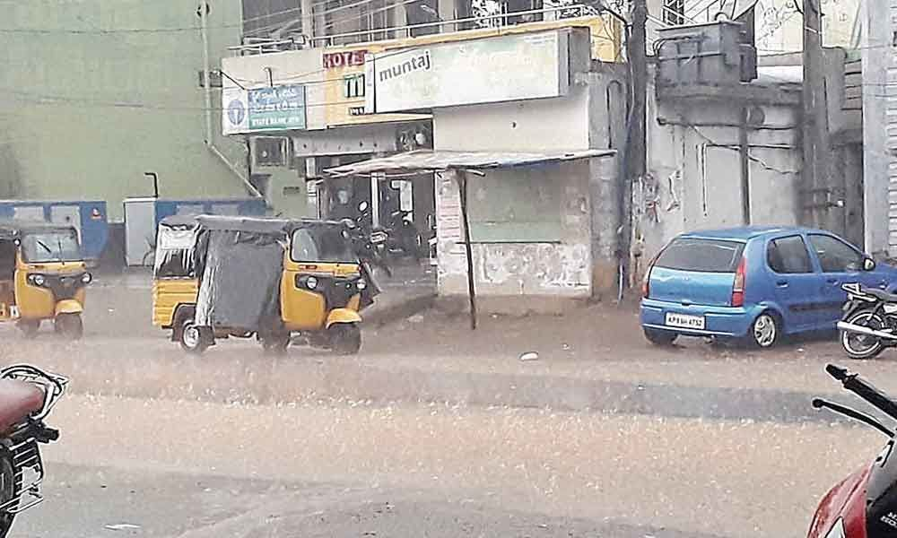 Rains lash Vizianagaram district