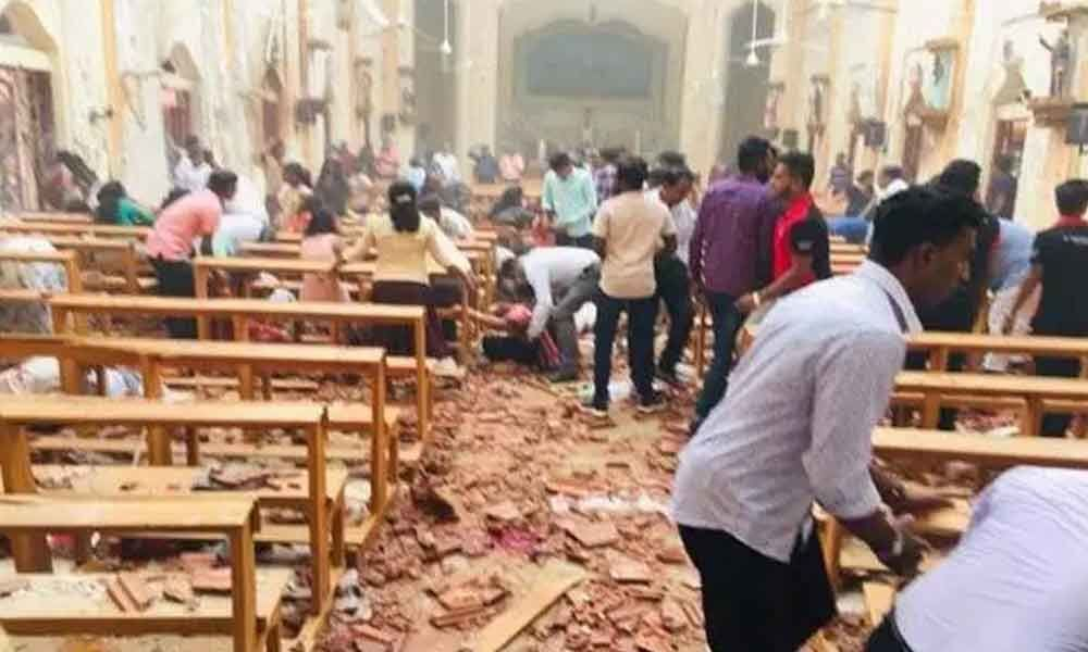 80 injured as blasts hit two churches during Easter mass in Sri Lanka