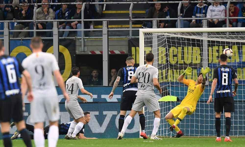 Soccer: Perisic makes Inters point in key Champions League battle