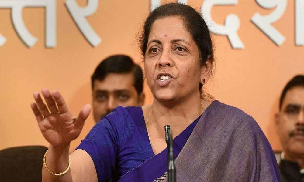 Send message you dont need someone airdropped from Delhi: Sitharaman to voters