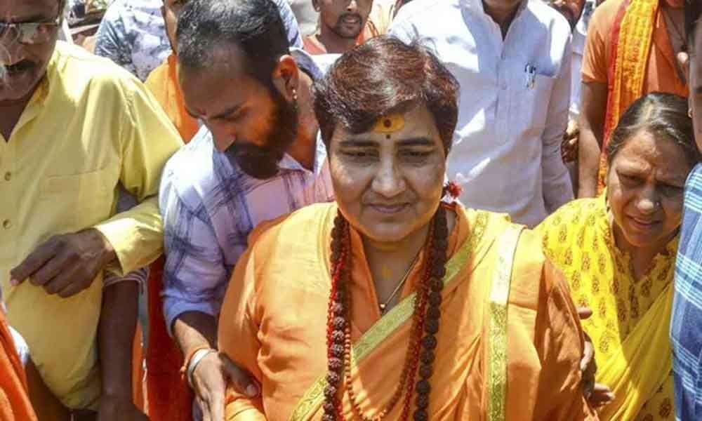 2nd EC notice to Pragya Thakur for Babri remarks
