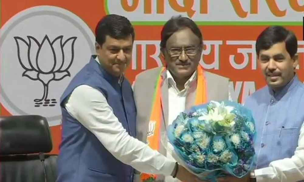 Ex-Union minister Krishna Kumar joins BJP, says Sonia has no real love for India