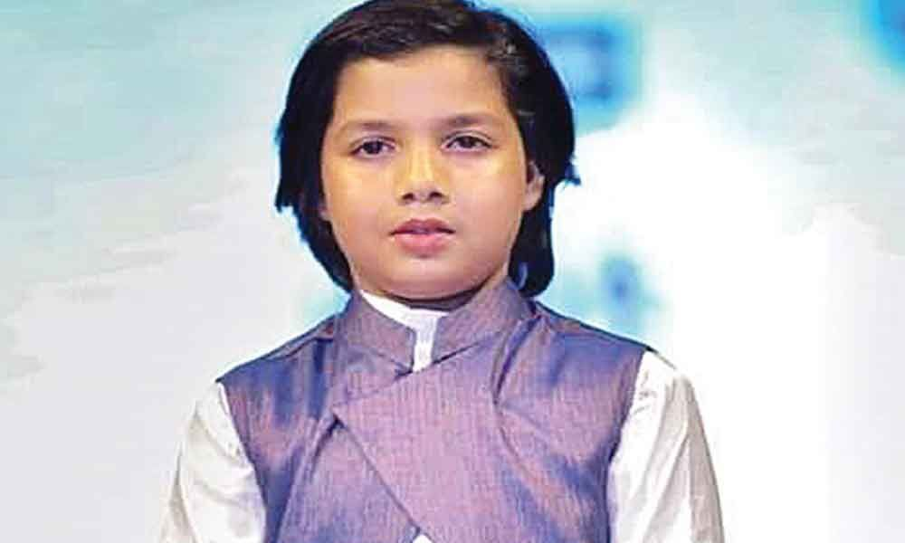 After fashion, this boy eyes short films