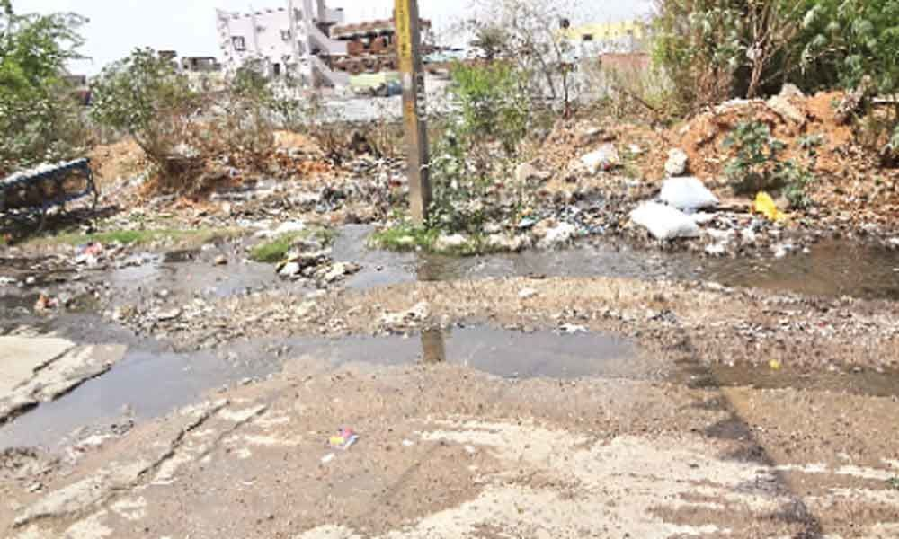 Motorists fume as drainage overflows