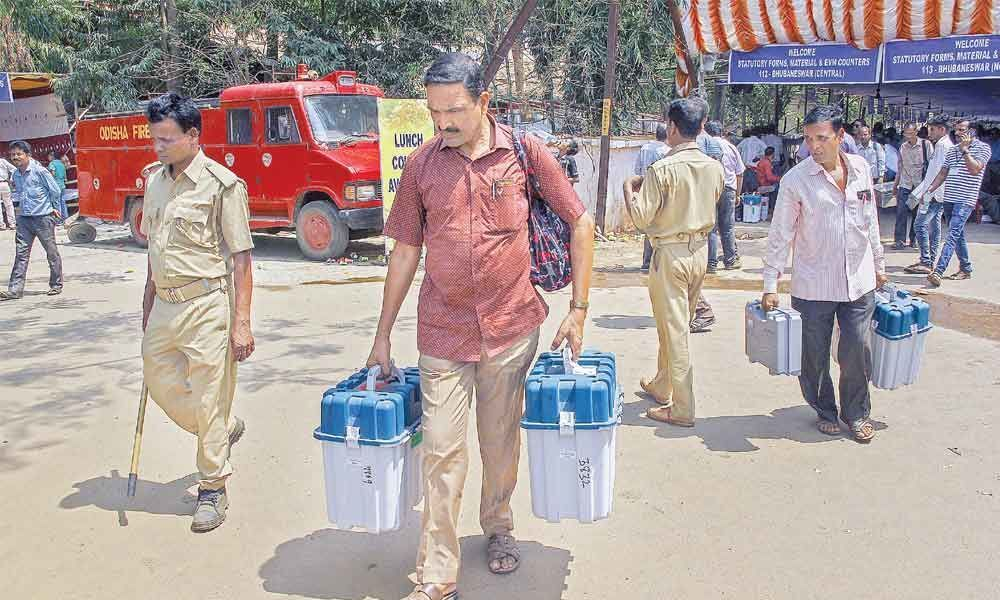 Campaigning ends for third phase LS polls