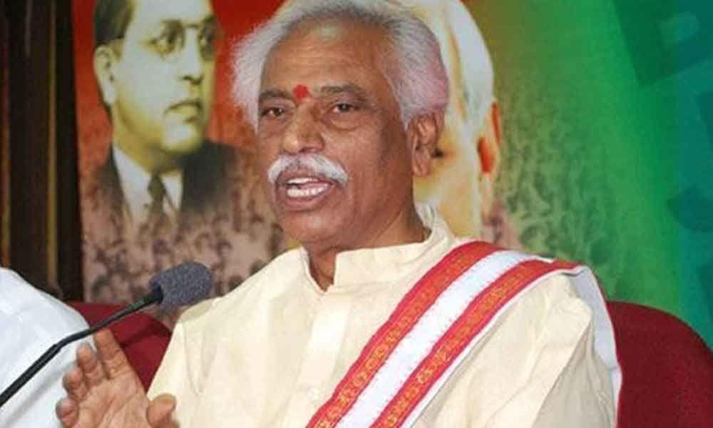 Hyderabad is safe haven for Islamic terrorist activities, says BJPs Bandaru Dattatreya