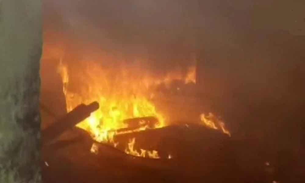 Fire at Crawford market in Mumbai; none hurt