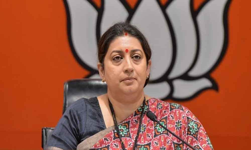 Smriti Irani issued notice in 2013 defamation case