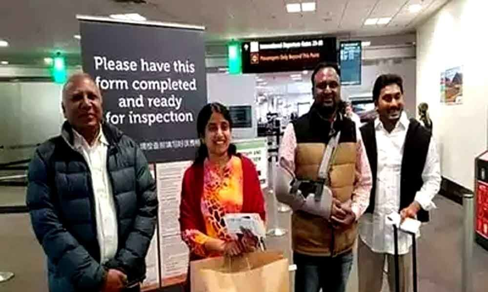YS Jagan holiday trip to Switzerland after AP elections