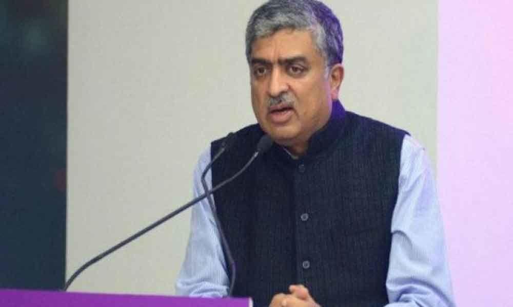 Aadhaar just an ID, says Nandan Nilekani