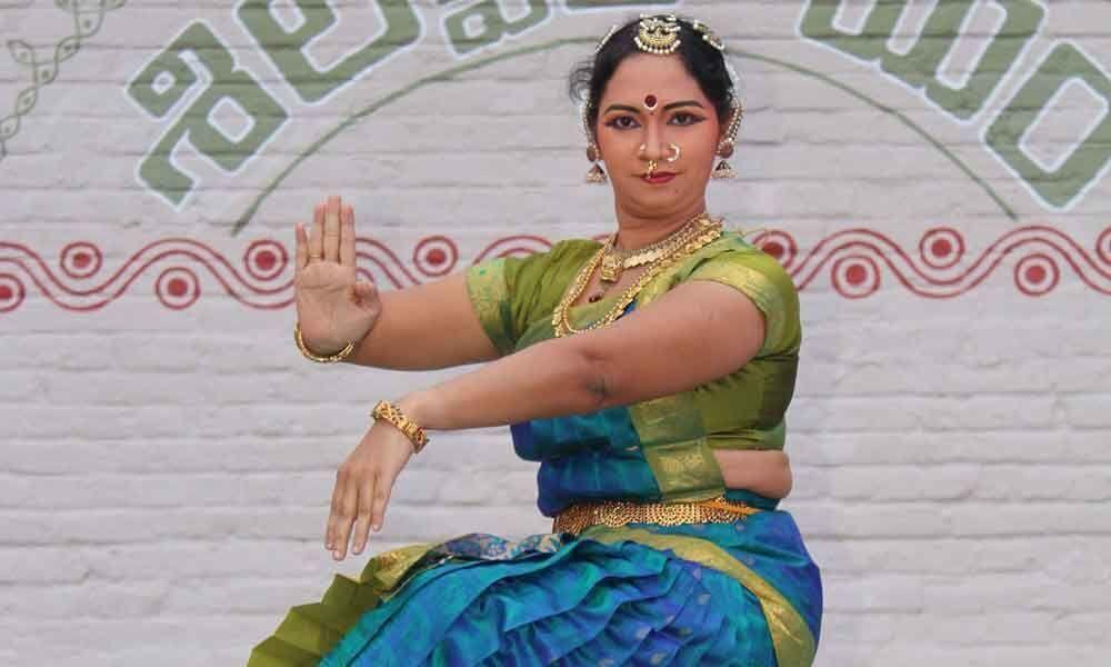 Bharatanatyam recital at Shilparamam