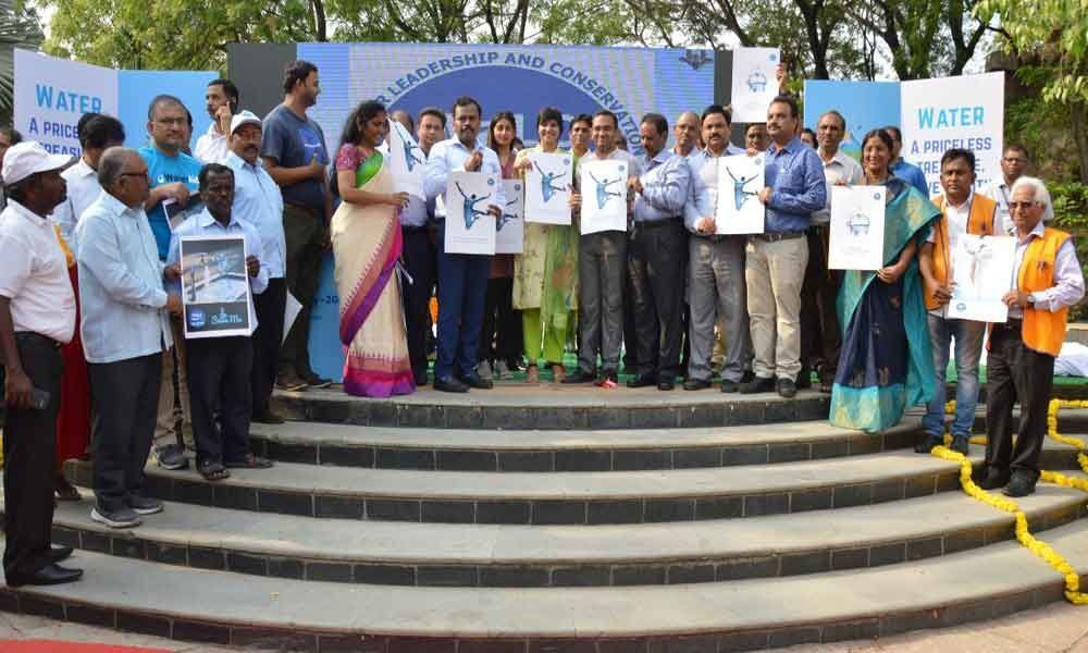 Major water conservation drive launched
