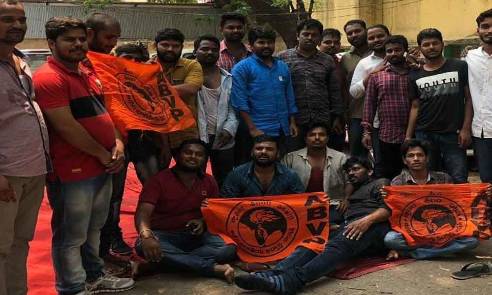 Protests against Inter results goof-up