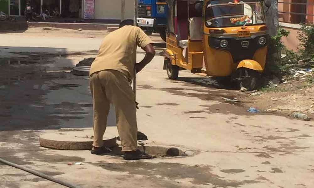 Residents grapple with overflowing drains