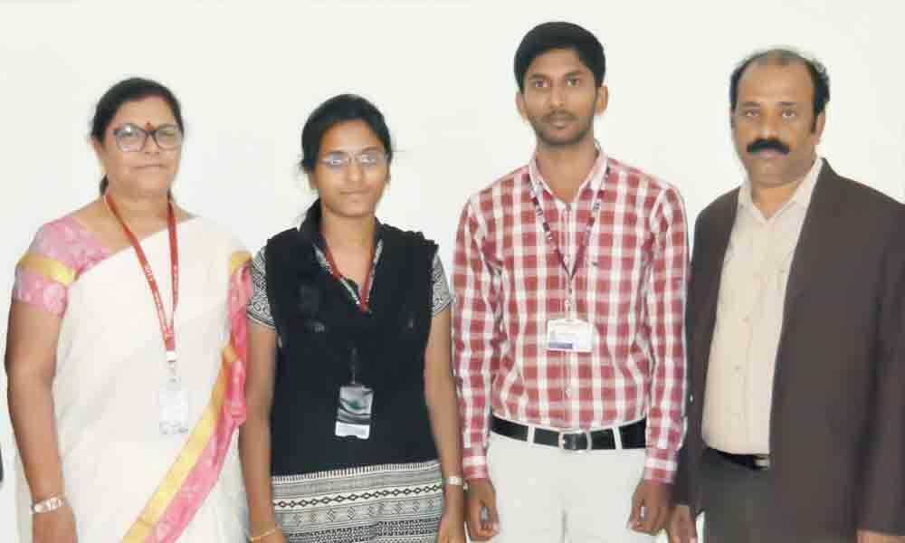 MITS students selected as speakers at Stanford University programme