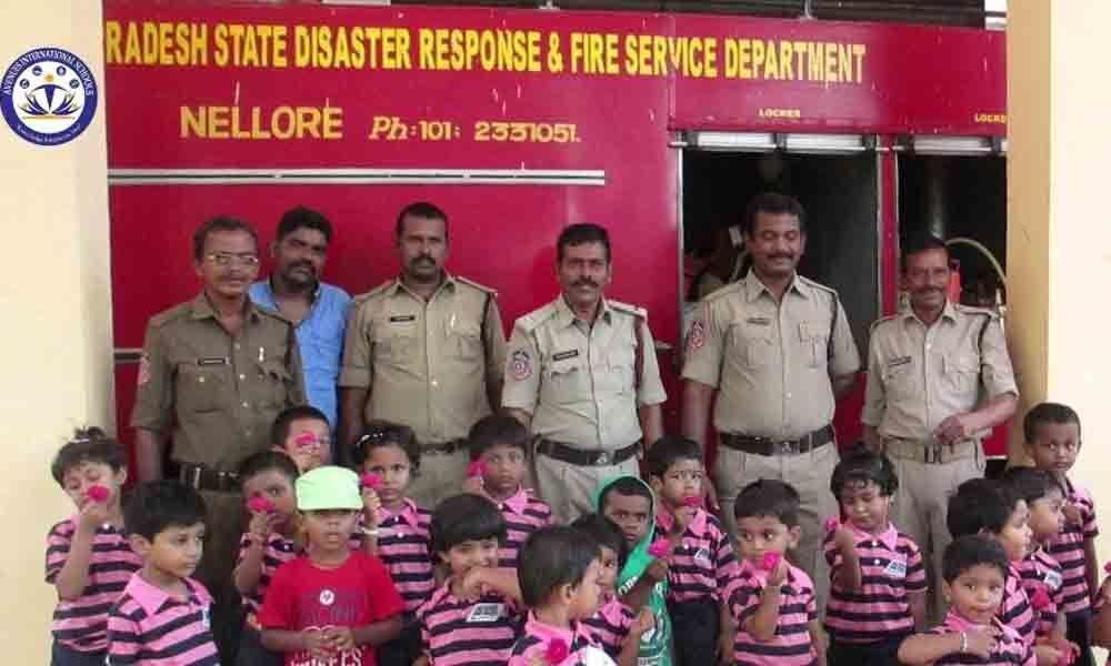 Deficient infra, low manpower hit fire dept in Nellore dist