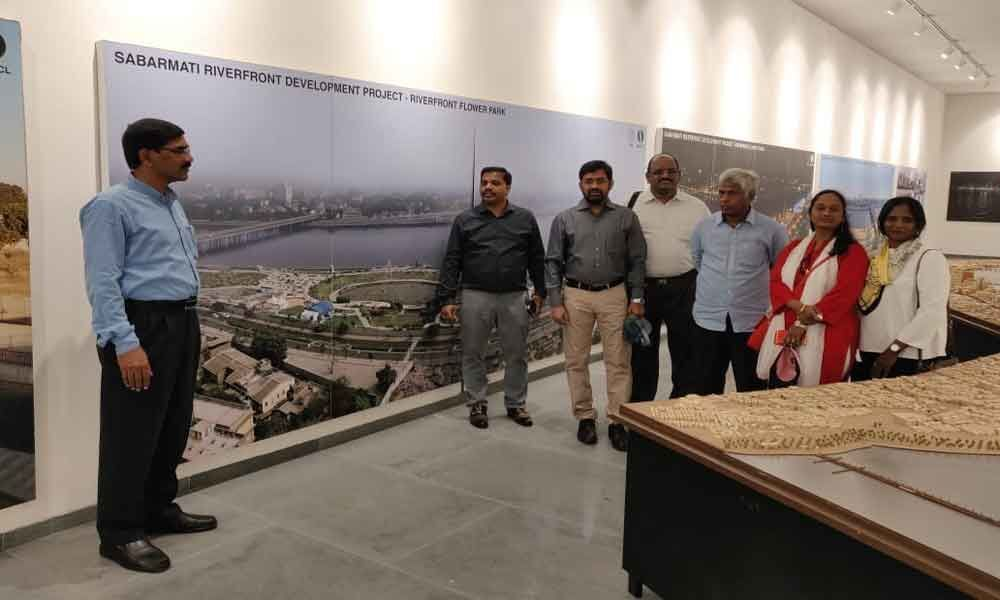Officials studying West Bengal, Gujarat riverfronts