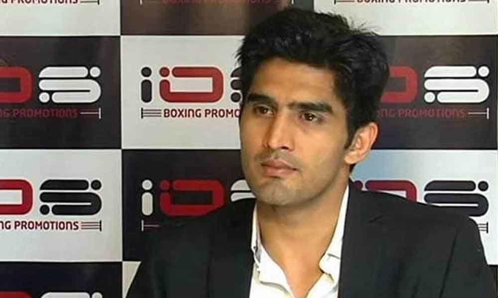 Boxer Vijender Singh to contest South Delhi seat on Congress ticket