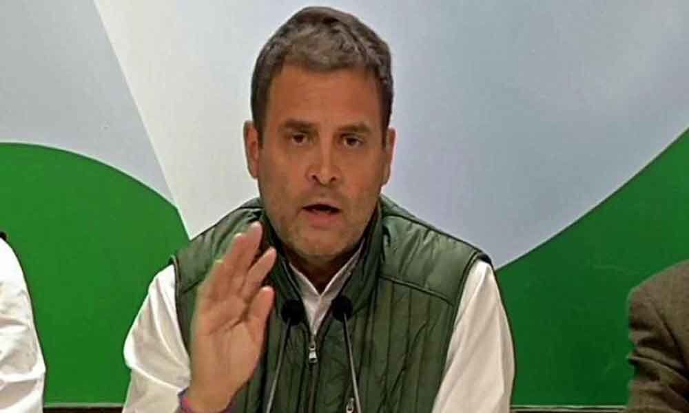 Want to do justice in next 5 years: Rahul promises 22 lakh govt jobs per year