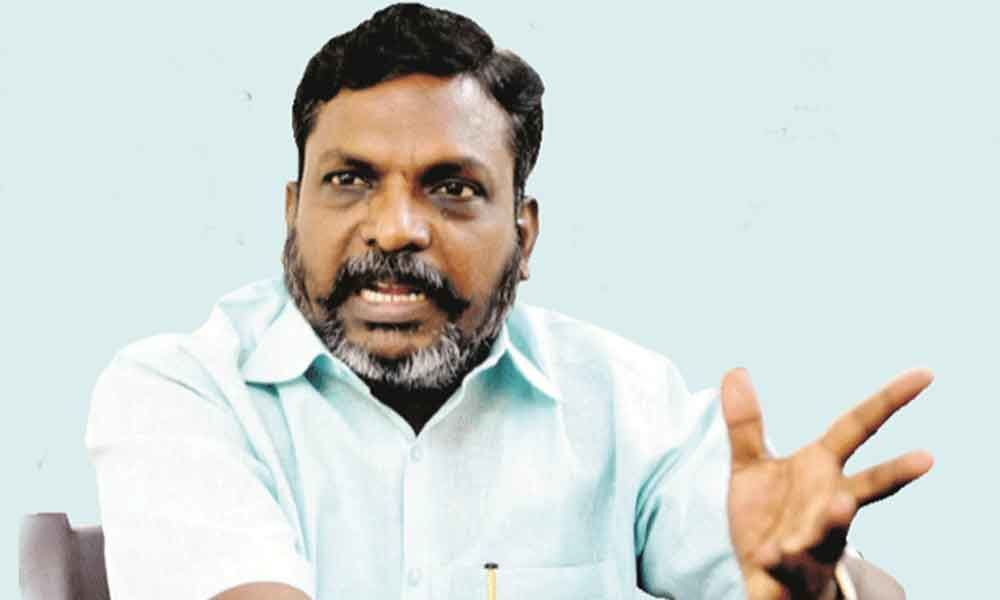Thol Thirumavalavan: More than 95 Dalits were not allowed to vote in TN