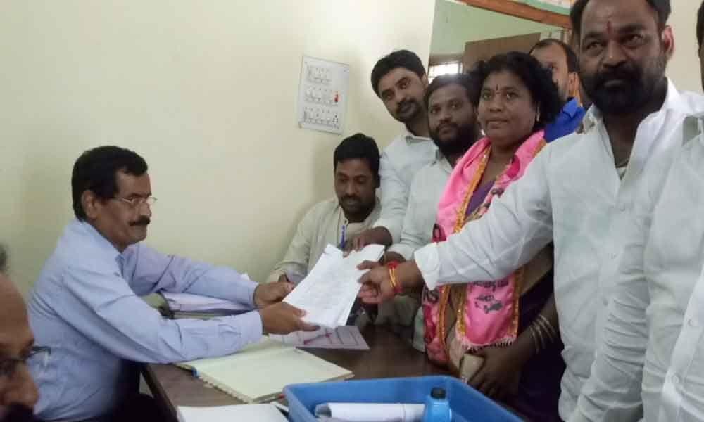 40 candidates file papers in Patancheru