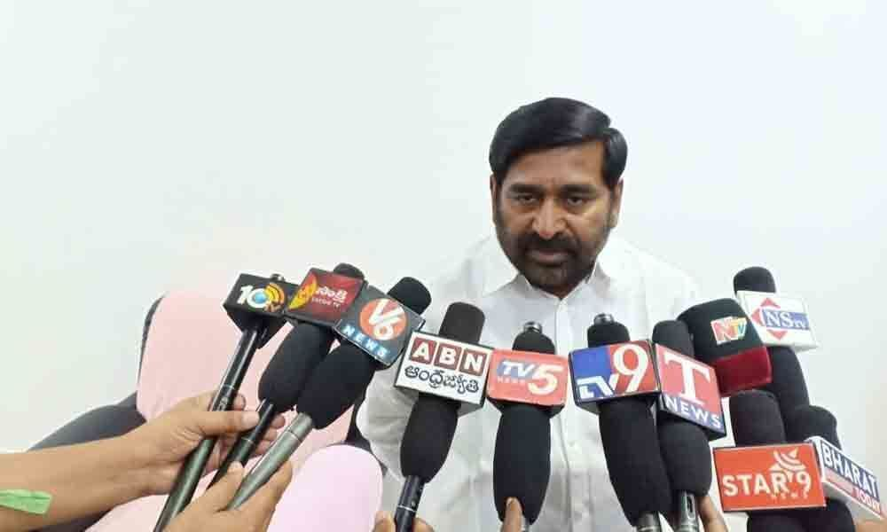 Inter results goof-up: Education Minister G Jagadish Reddy promises strict against accused
