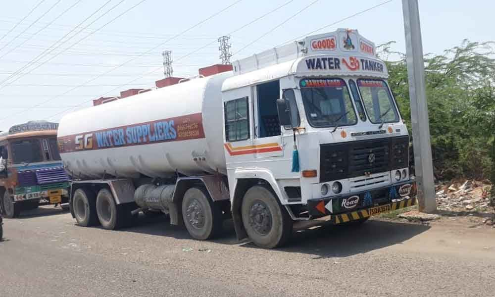 Illegal water business thrives in Kaithalapur