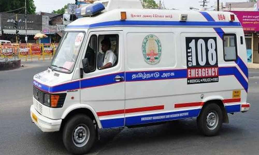 Bleeding Pregnant woman sees hell on road in Nellore district