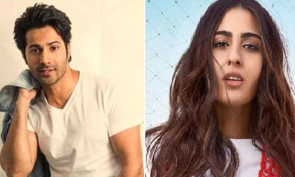 ​Varun Dhawan And Sara Ali Khan in Coolie No 1 Remake