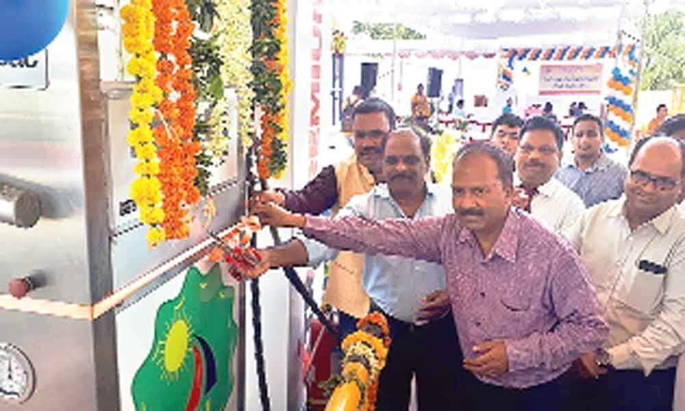 CNG filling station opens at Mallapur