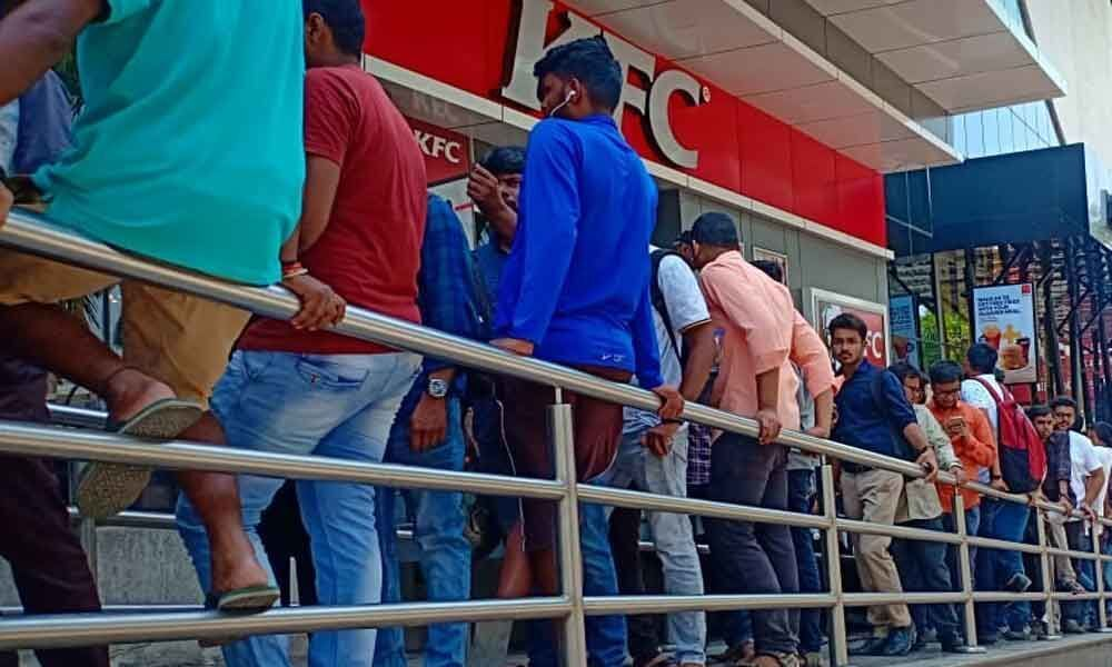 Hours of waiting in vain for Avengers fans in city