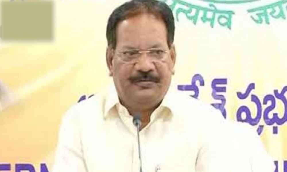 CM Chandrababu Naidu has right to hold review meetings says minister Nakka Anand Babu