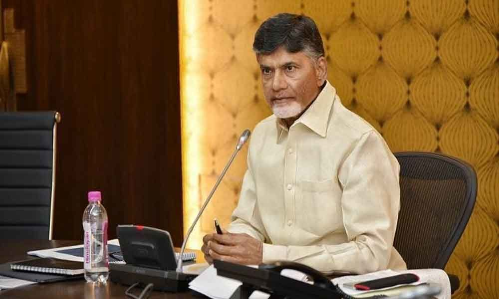In Telangana they remain silent..but in AP they create an issue: CM Chandrababu Naidu