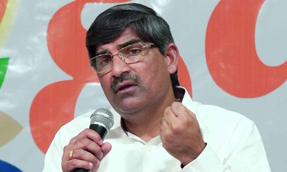 AP Chief Secretary LV Subramanyam visits New Delhi