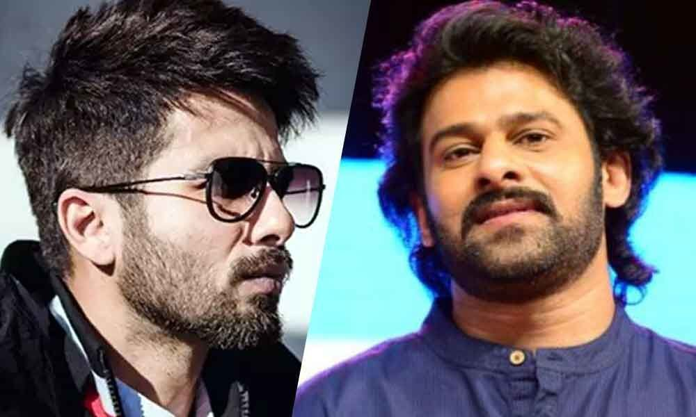 Prabhas Is Very Kind Says Shahid Kapoor