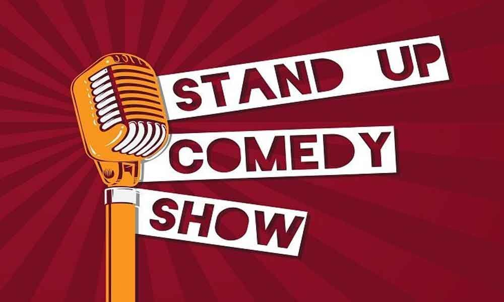 Live stand-up comedy show