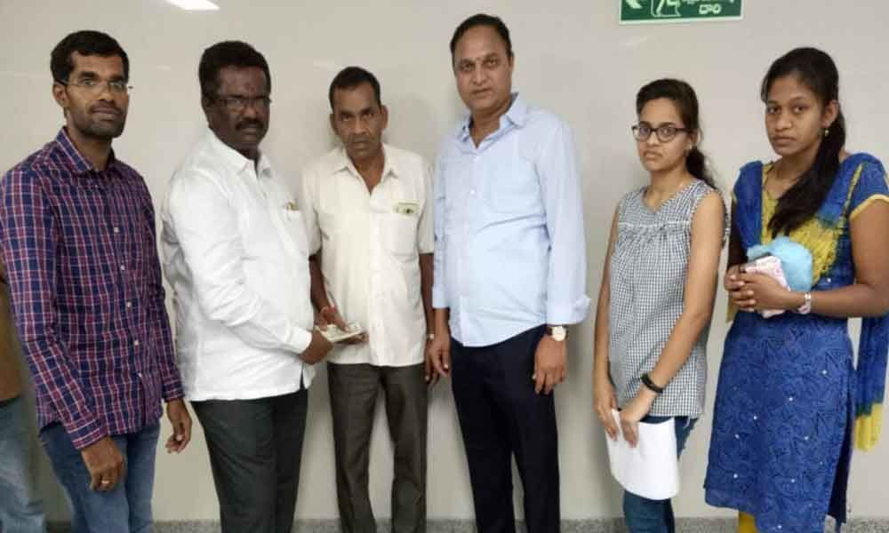 Ailing TRS activist extended aid