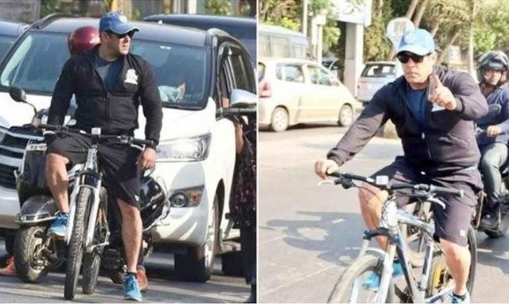 Complaint filed against Salman Khan for misbehaviour