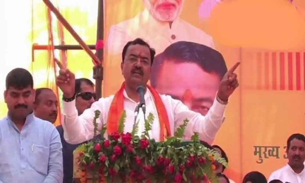 Samajwadi Party is Samapt Party, BSP Bilkul Samapt Party: Keshav Prasad Maurya