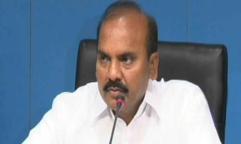Chief Secretary has to pay price for his actions after 23 May: Minister Prathipati Pulla Rao