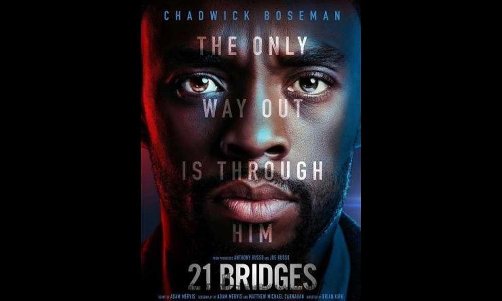 Check Out Chadwick Boseman in 21 Bridges Trailer