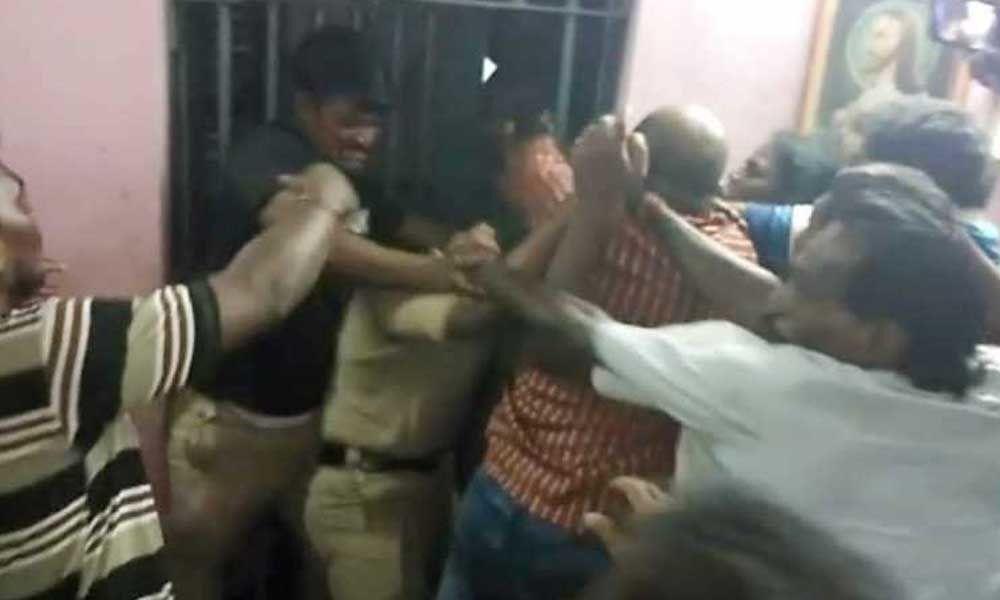 Rapur police register case against Venkatagiri MLA