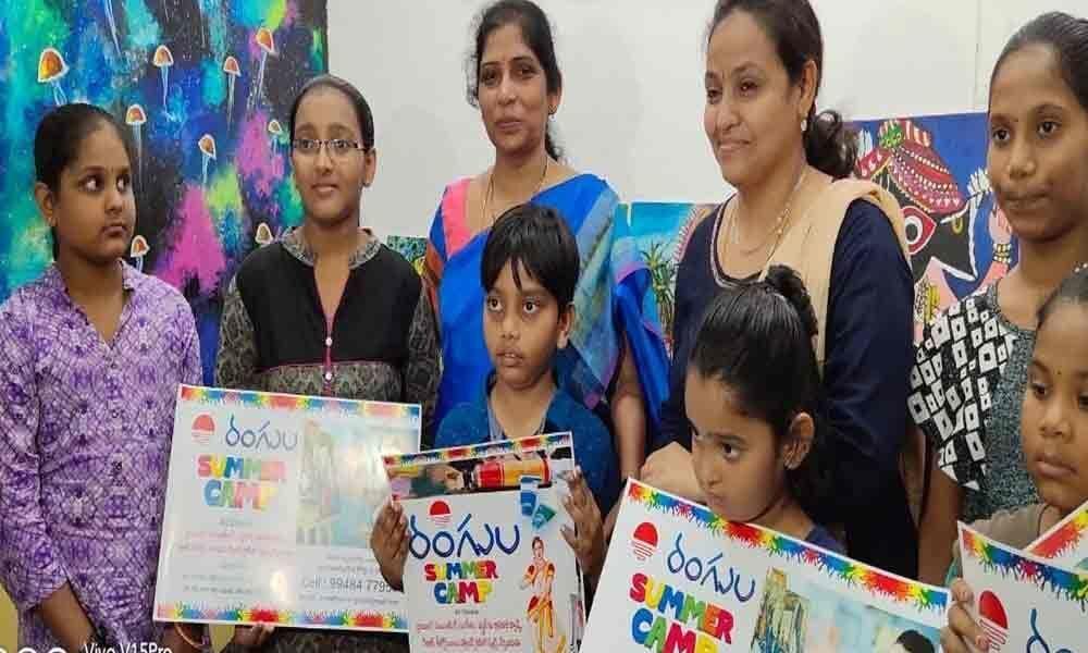 Rangula Arts Gallery to conduct free summer camp