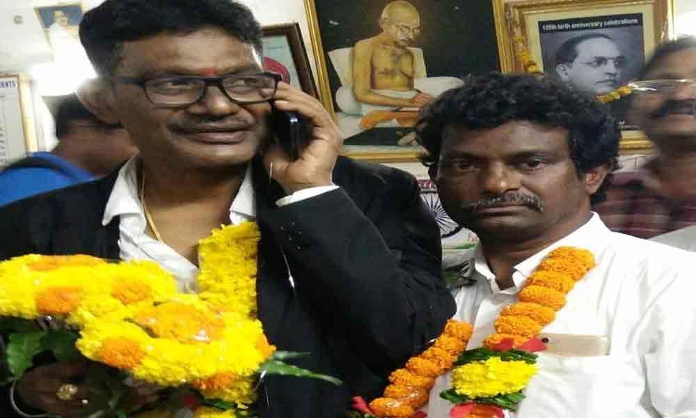 Sistu Rames new president for Srikakulam Bar Association