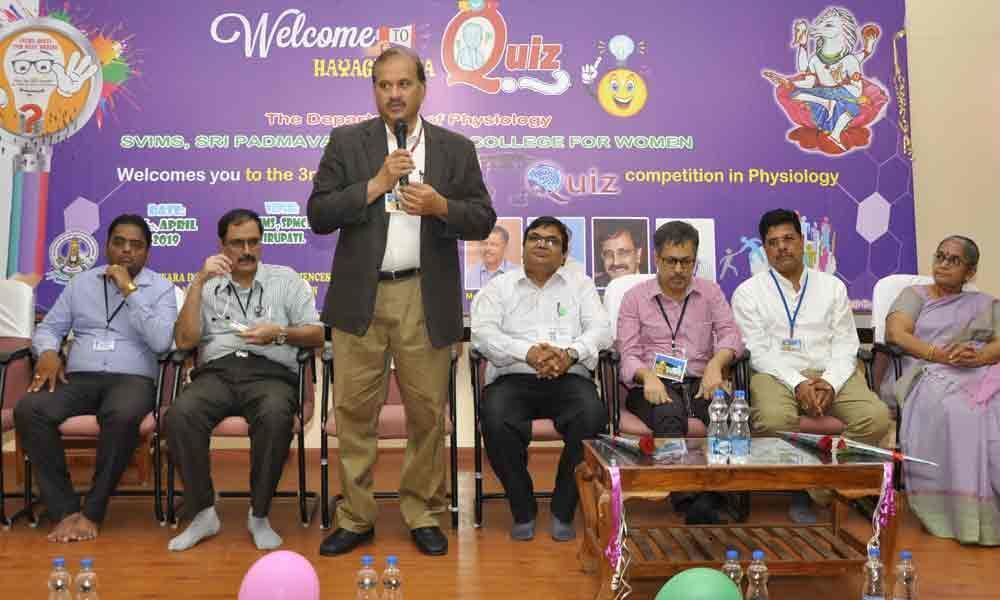 Quiz contest held for medical students