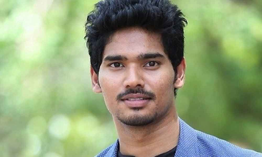 A woman died, actor Sudhakar injured in road accident in Mangalagiri