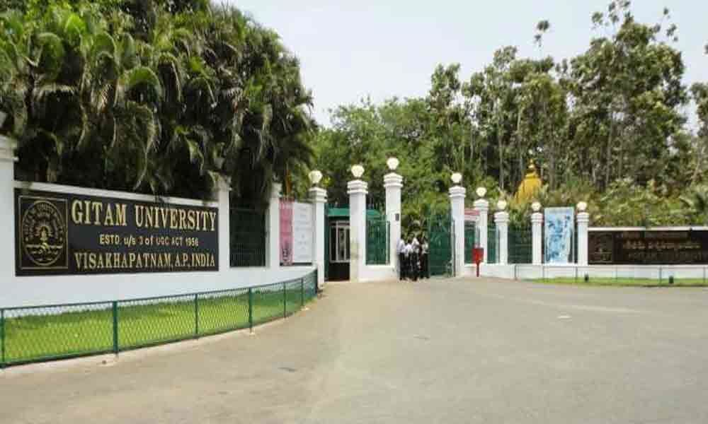 GITAM admission test results out