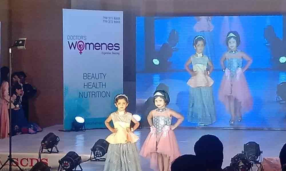 Fashion show by kids enthralls audience